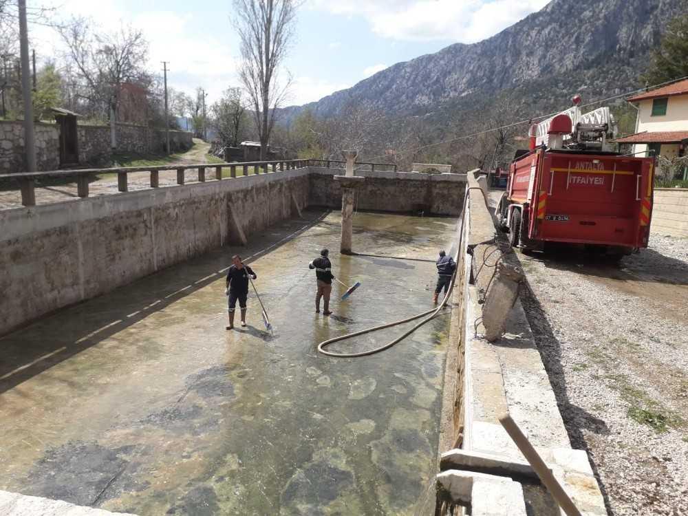 Akseki'de Aşağıaşıklar'ın su sorunu çözüldü