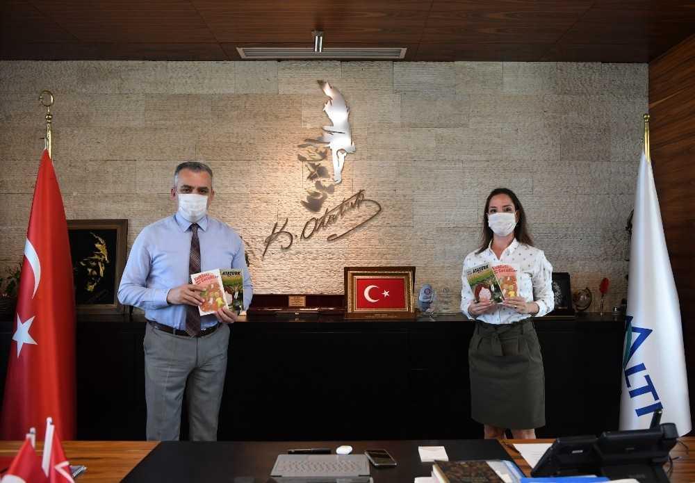 Başkan Esen'den çocuklara kitap