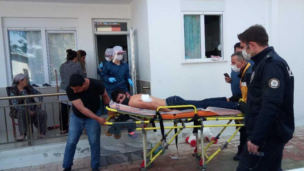 Antalya'da kadın, tartıştığı eski kocasını bıçakladı