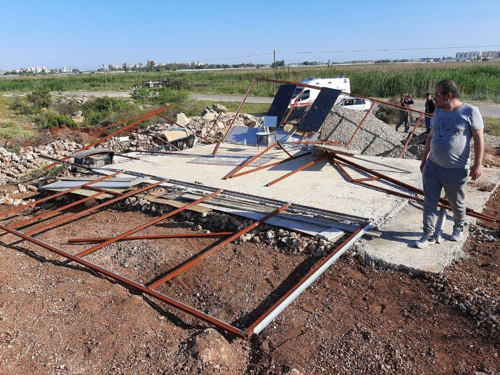 Arazi kavgasında yaşlı adamın demir çubukla darp edildiği iddiası