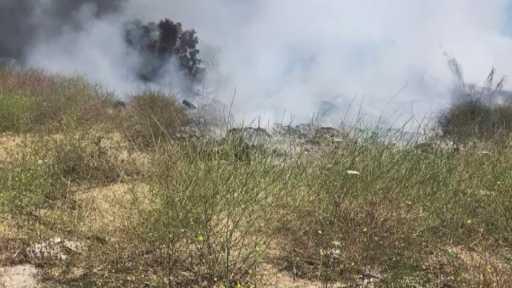 Çobanların yaktığı ateş orman yangını çıkardı