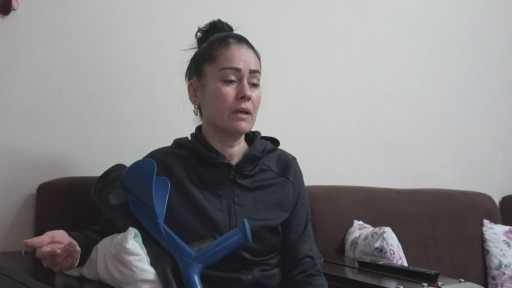 Kendisini vuran eski eşi serbest kalınca gözyaşı döktü