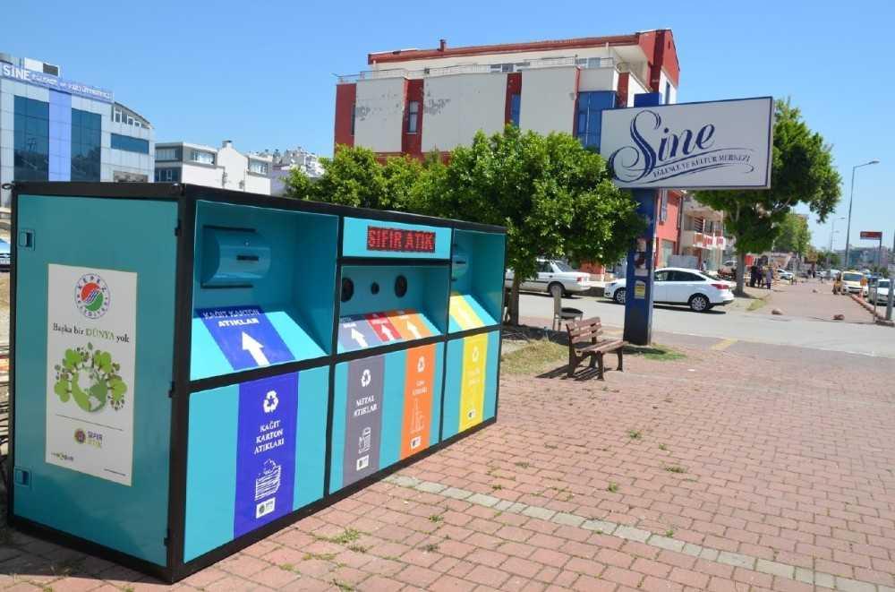 Kepez'den 'Mobil Atık Getirme Merkezi'