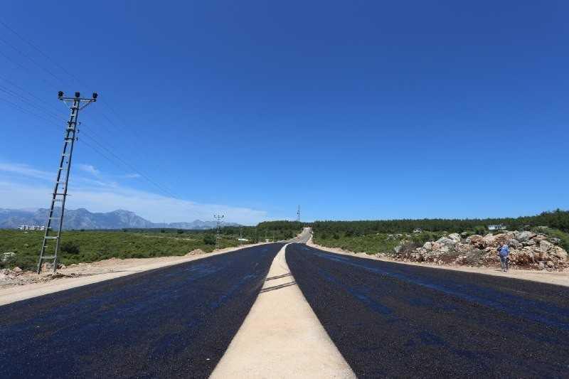 Kepez'e 20 metre genişliğinde yeni yol