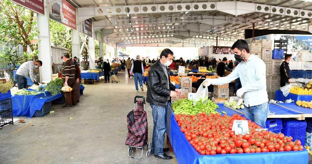 Muratpaşa'da hafta sonu pazarları açılıyor