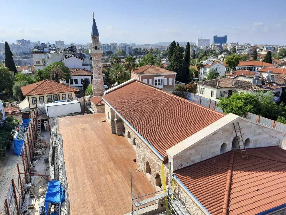 Antalya'daki Şehzade Korkut Camii restorasyonunda sona gelindi