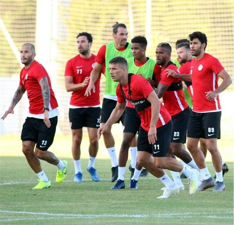 Antalyaspor, Beşiktaş maçının hazırlıklarına başladı