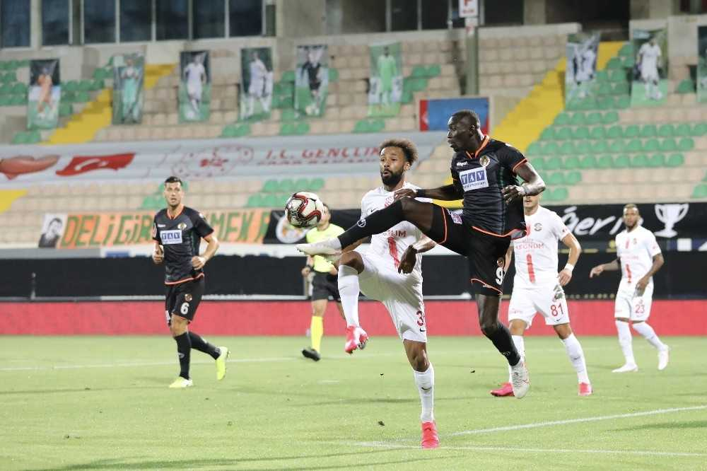 Antalyaspor'da final üzüntüsü