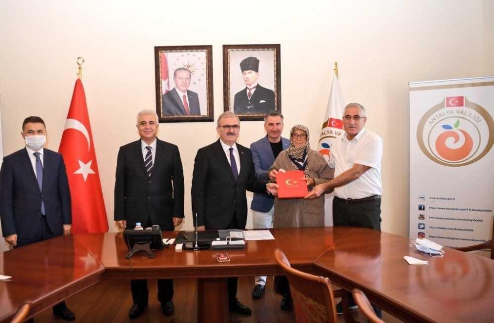 Antalya'ya hayırseverden Özel Eğitim Mesleki Eğitim Okulu