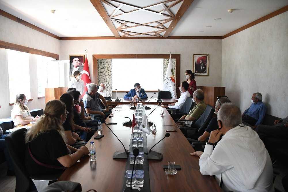 Başkan Topaloğlu imar sorunu çözülen Beldibi'nde