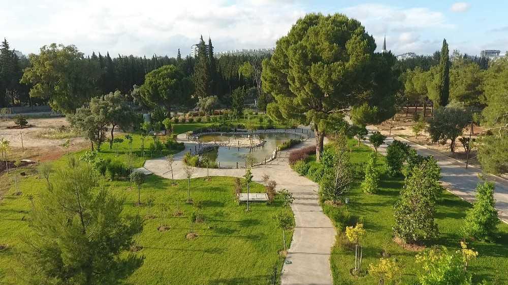 Dokuma Park, 74 ayrı türde 400 ağaç, 5 bin bitkiye ev sahipliği yapacak
