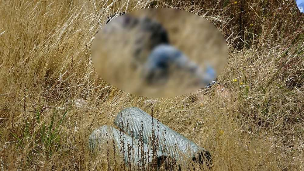 Kara yolu kenarında ölü bulunan şahsın kesin ölüm nedeni otopsiden sonra belli olacak