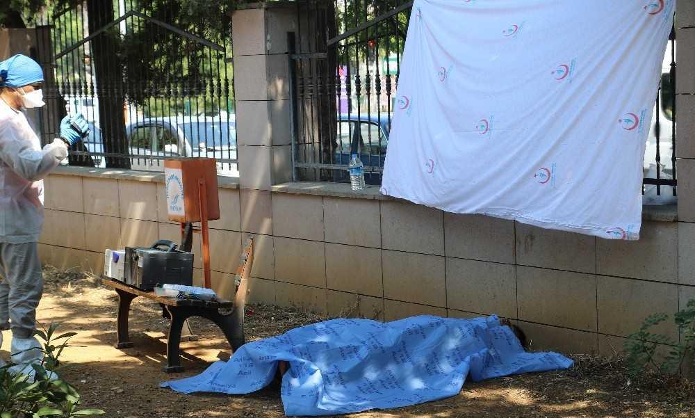 Ölüm hastane bahçesinde yakaladı, cesedi temizlik işçileri buldu