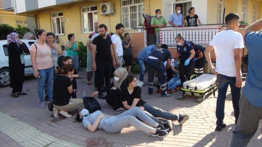 Ortalığın savaş alanına döndüğü kazada 7 kişi yaralandı