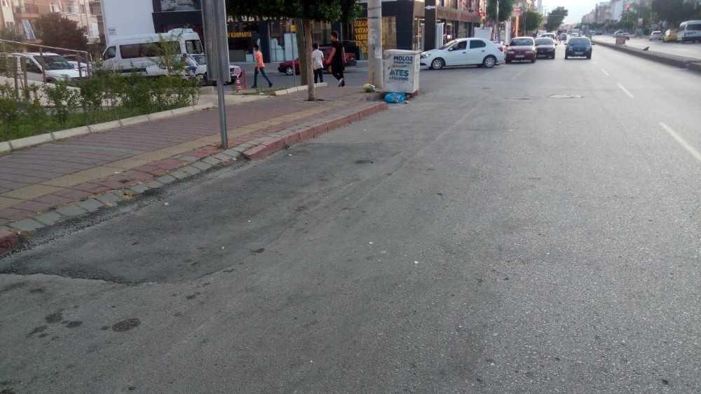Otomobilin çarptığı 8 yaşındaki bisikletli çocuk ağır yaralandı