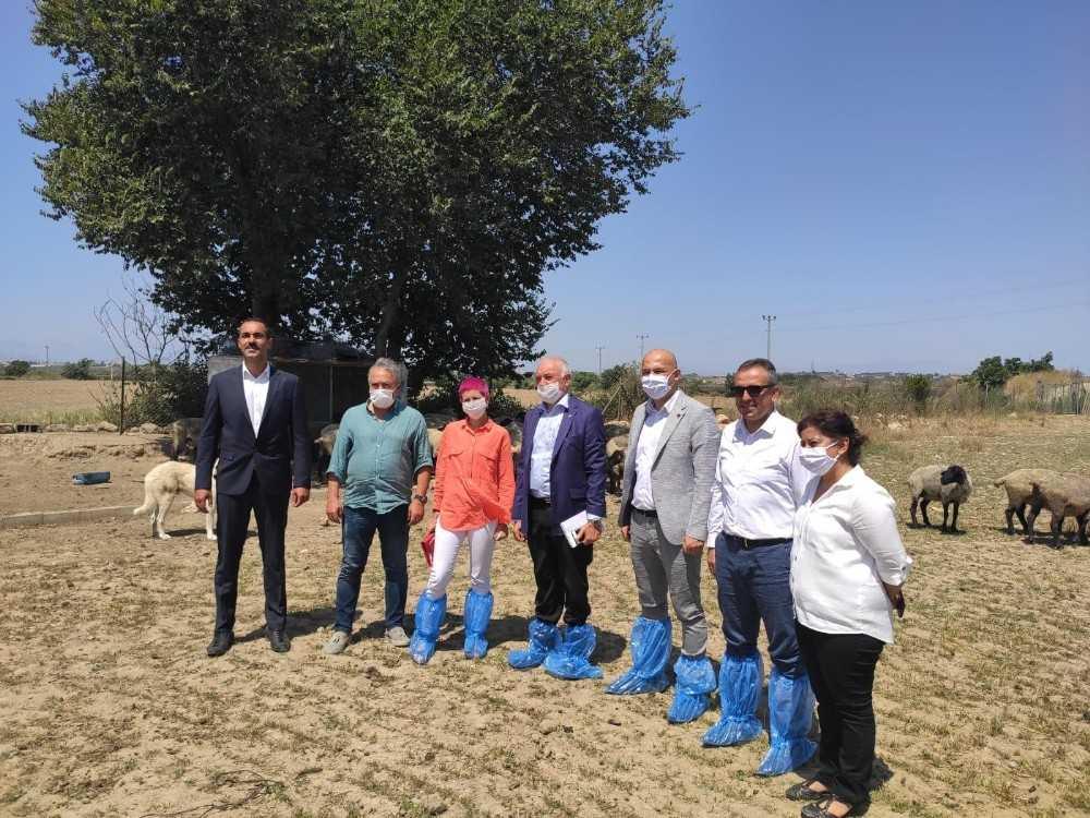 Paraguay Büyükelçisinden Antalyalı üreticilere ziyaret