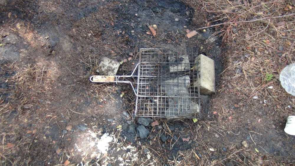Sorgun Çamlığı'nda yakılan mangal yangın çıkardı