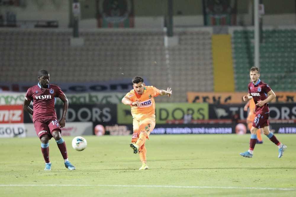 Süper Lig: Aytemiz Alanyaspor: 2 – Trabzonspor: 2 (Maç sonucu)
