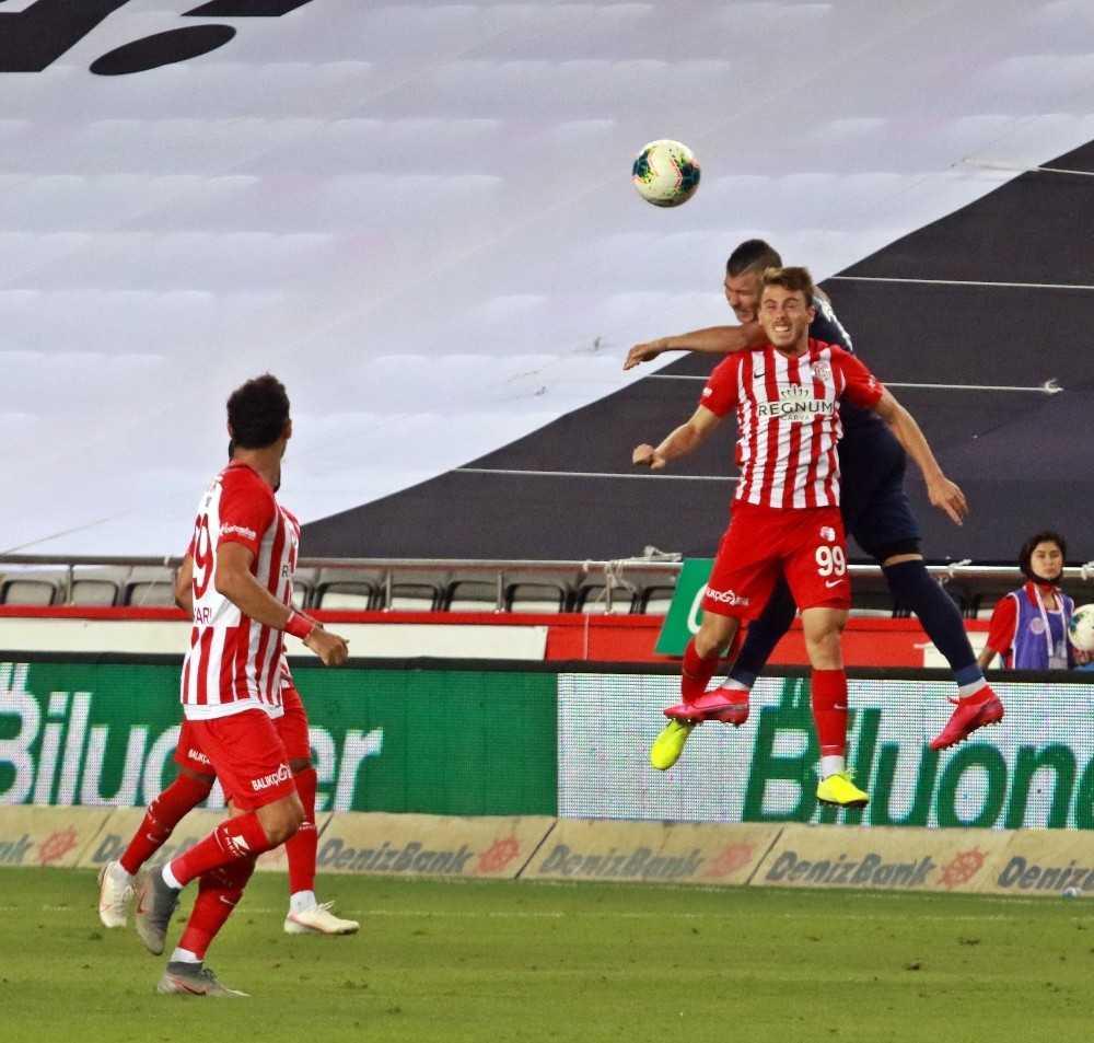 Süper Lig: Fraport TAV Antalyaspor: 3 -Çaykur Rizespor: 1 (Maç sonucu)