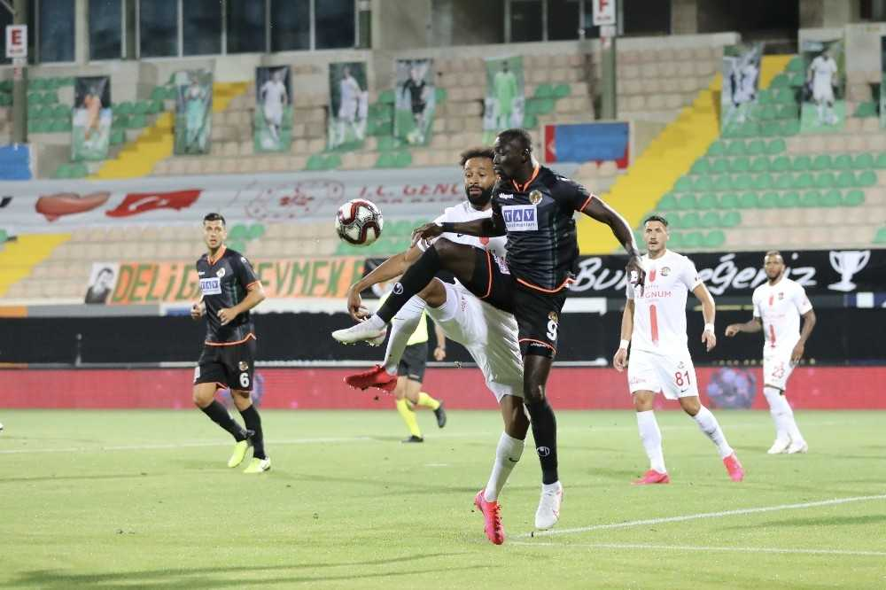 Ziraat Türkiye Kupası: Alanyaspor: 2 – Antalyaspor: 0 (İlk yarı)