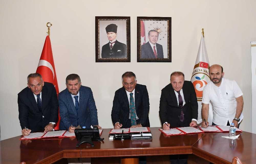 Akdeniz Üniversitesi Camii'nde açılacak Genç Ofis protokolü imzalandı
