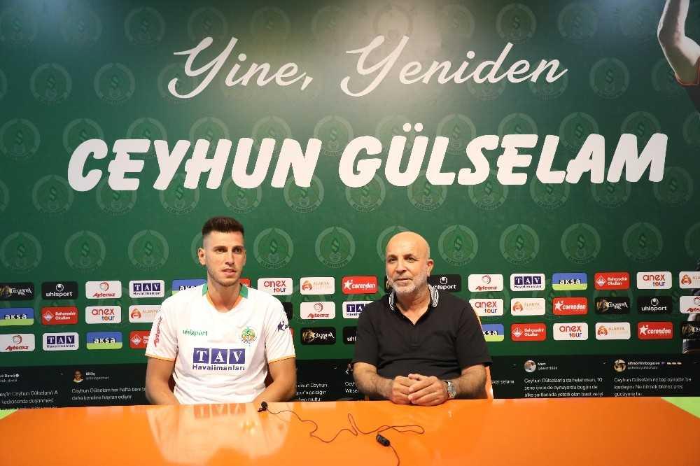 Alanyaspor Ceyhun Gülselam ile sözleşme yeniledi