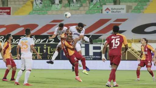 Alanyaspor – Galatasaray maçından kareler -1-