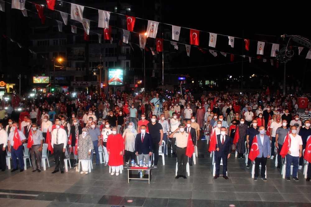Antalya'da 15 Temmuz Demokrasi ve Milli Birlik Günü etkinliği