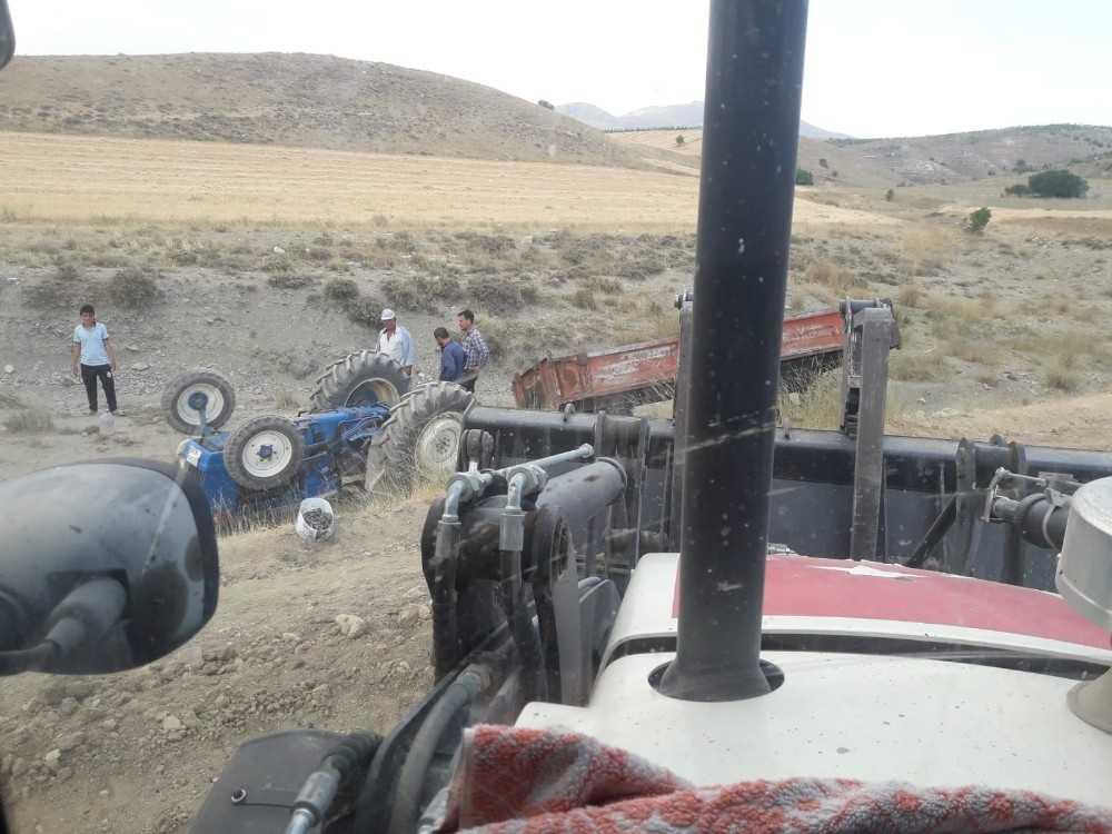 Antalya'da traktör kazası: 1 yaralı