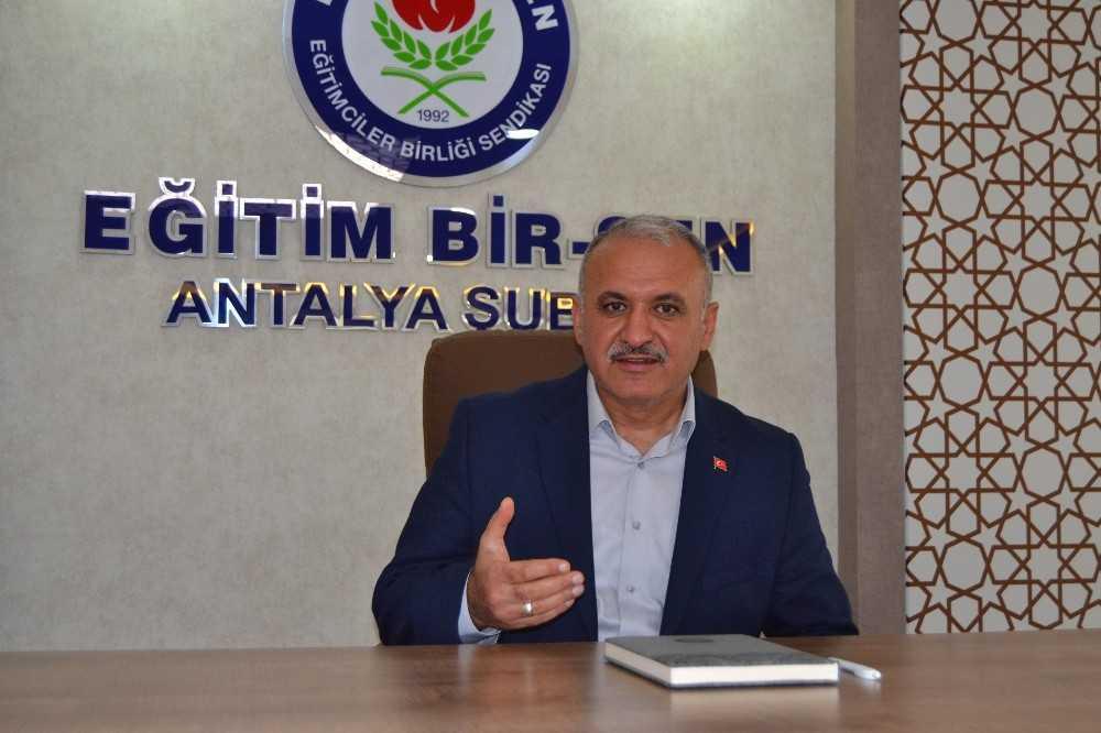 Antalya'da yetkinin adresi yine Eğitim Bir Sen