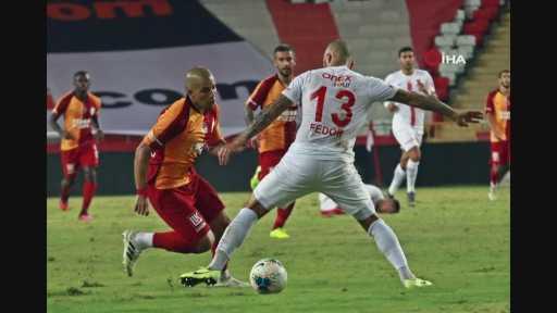 Antalyaspor – Galatasaray maçından kareler -2-