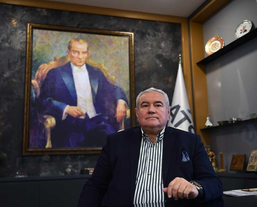 """ATSO Başkanı Çetin:"""" 15 Temmuz'da anayasal düzene ve demokrasiye kasteden hain darbe girişimine gereken yanıt verildi"""""""