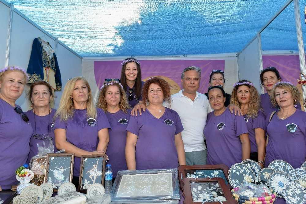 Kadınların el emeğine özel pazar