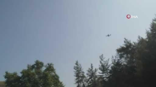 Kumluca'daki yangında 4 hektarlık orman arazisi zarar gördü