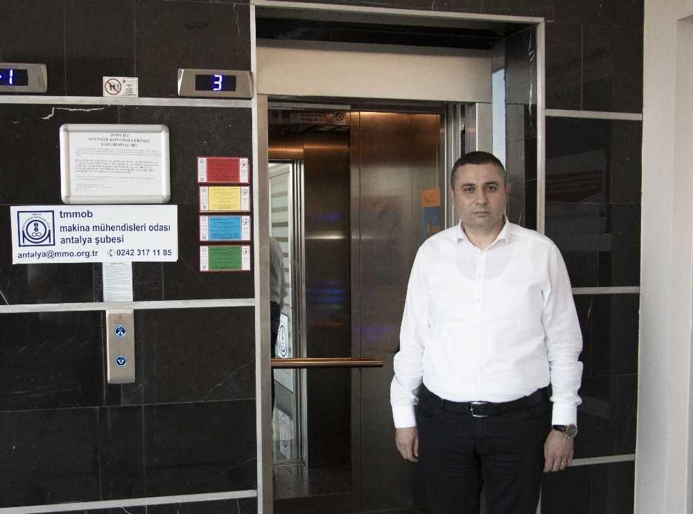 Muratpaşa'da asansörlerin güvenilirliği yüzde 96'ya yükseldi