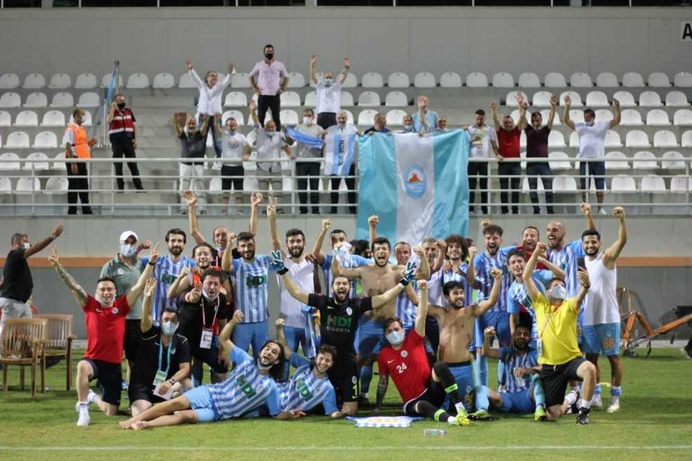 Pazarspor 90+6'da final vizesini kaptı