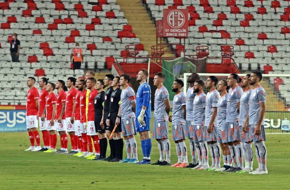 Süper Lig: Antalyaspor: 0 – Medipol Başakşehir: 0 (İlk yarı)