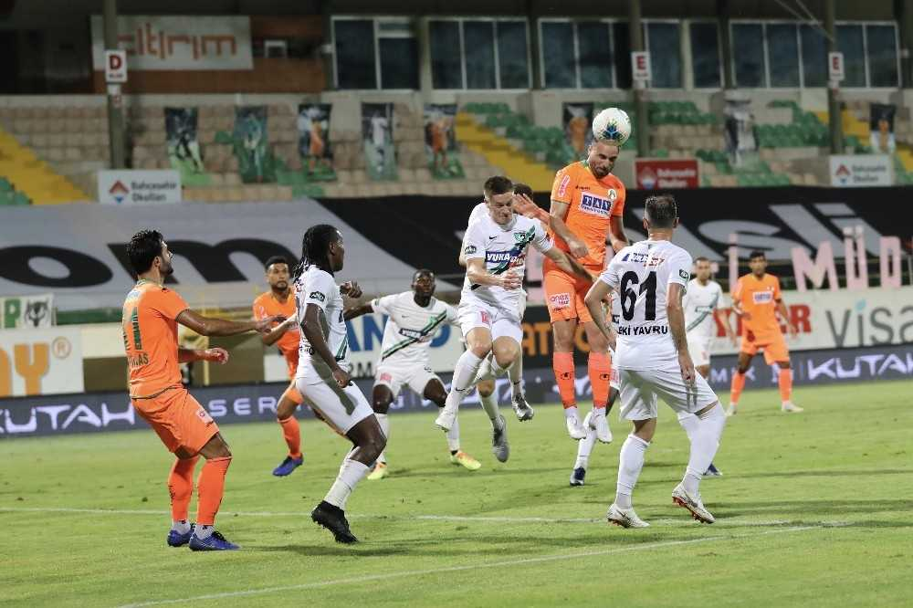 Süper Lig: Aytemiz Alanyaspor: 1 – Denizlispor: 0 (Maç sonucu)