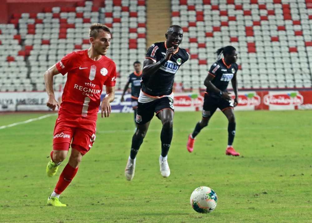 Süper Lig: Fraport TAV Antalyaspor: 1 – Aytemiz Alanyaspor: 0 (Maç sonucu)