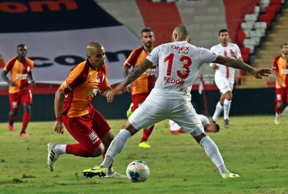 Süper Lig: Fraport TAV Antalyaspor: 2 – Galatasaray: 2 (Maç sonucu)