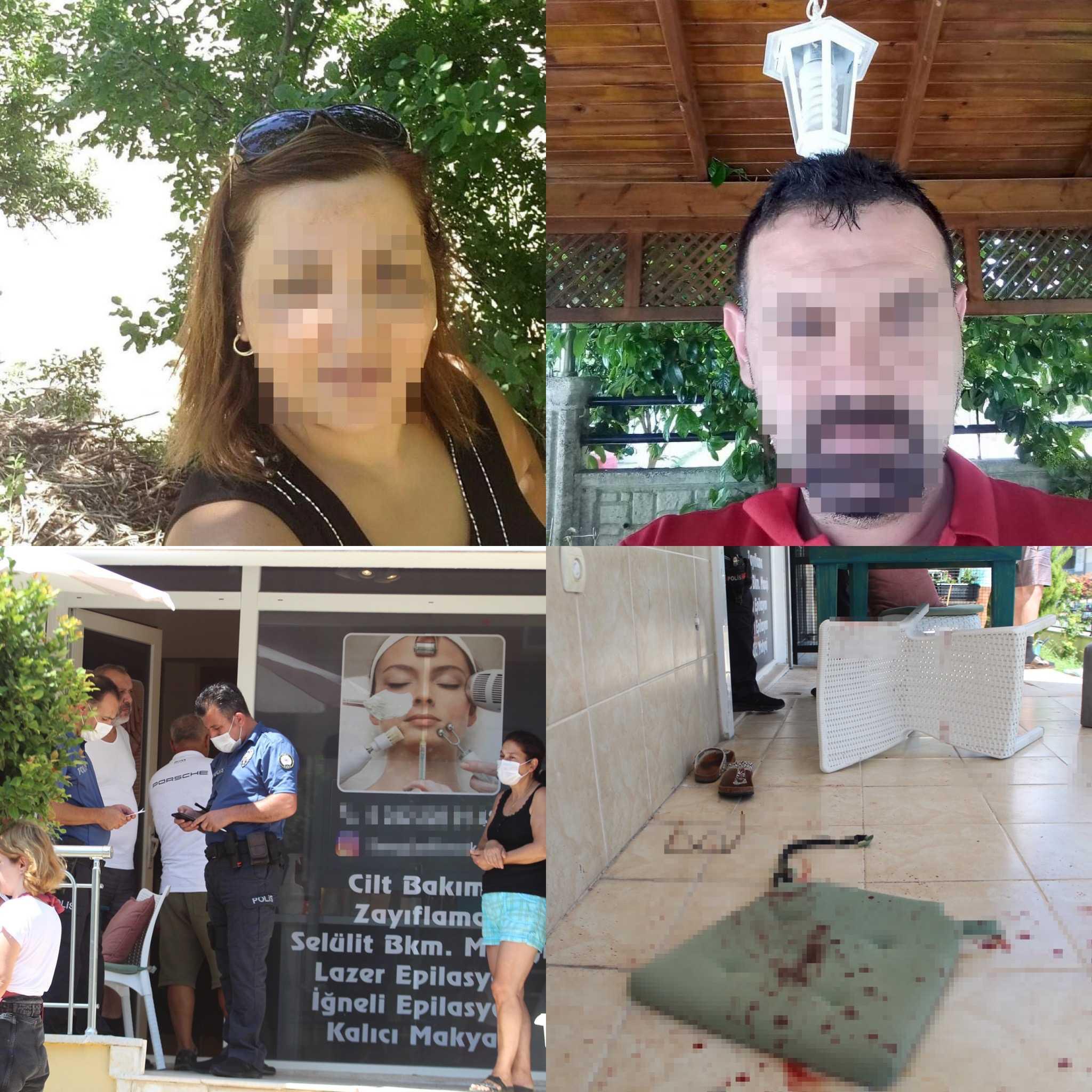 Antalya'da balkonda oturan kadına 3 bıçak darbesi