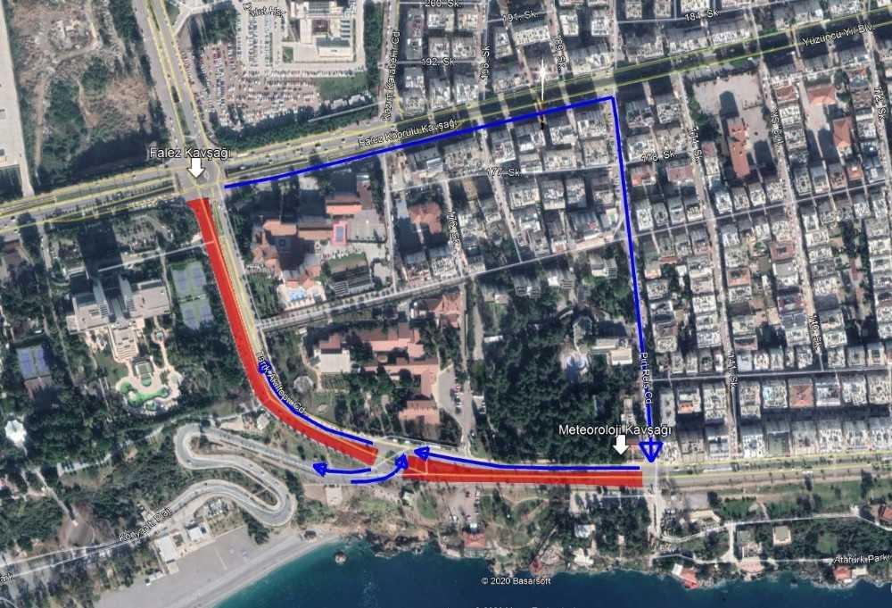 3. Aşama Raylı Sistem Projesi kapsamında yol trafiğe kapatılacak