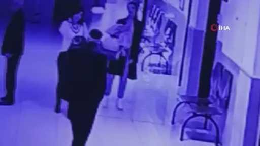 Adliye koridorunda kadın avukata böyle tokat attı