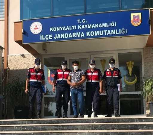Antalya'da 25 bin metre boru çalan şahıs yakalandı