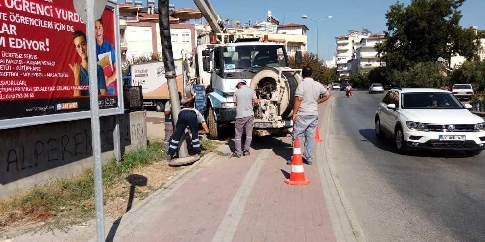 ASAT'tan Manavgat'ta önleyici bakım
