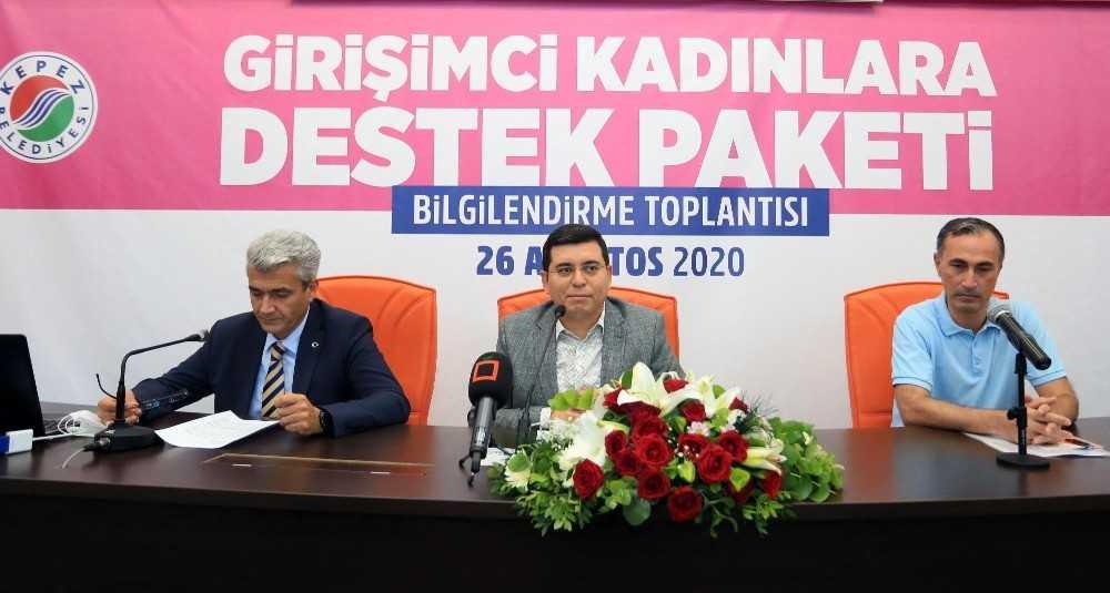 """Başkan Tütüncü: """"Kepezli hanımlar, Türkiye'ye örnek kooperatifler kuracaklar"""""""