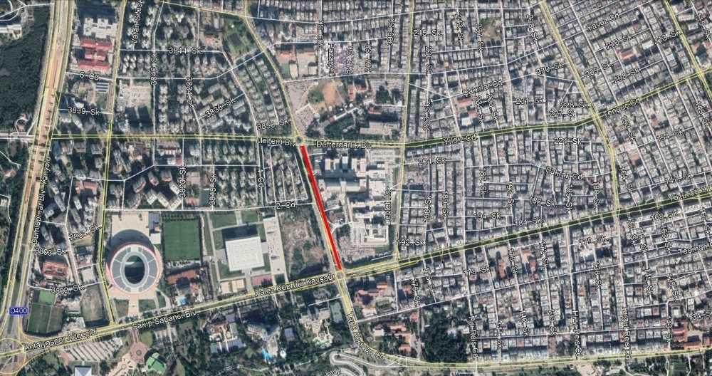 Eğitim Araştırma Hastanesi önü trafiğe kapanıyor