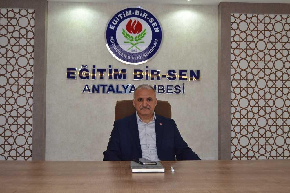 """Eğitim Bir-Sen Başkanı Miran: """"Mazerete bağlı yer değişikliği anayasal haktır"""""""