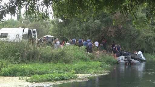 Kanalda yüzerken kaybolan 17 yaşındaki Sezgin'i arama çalışmaları devam ediyor