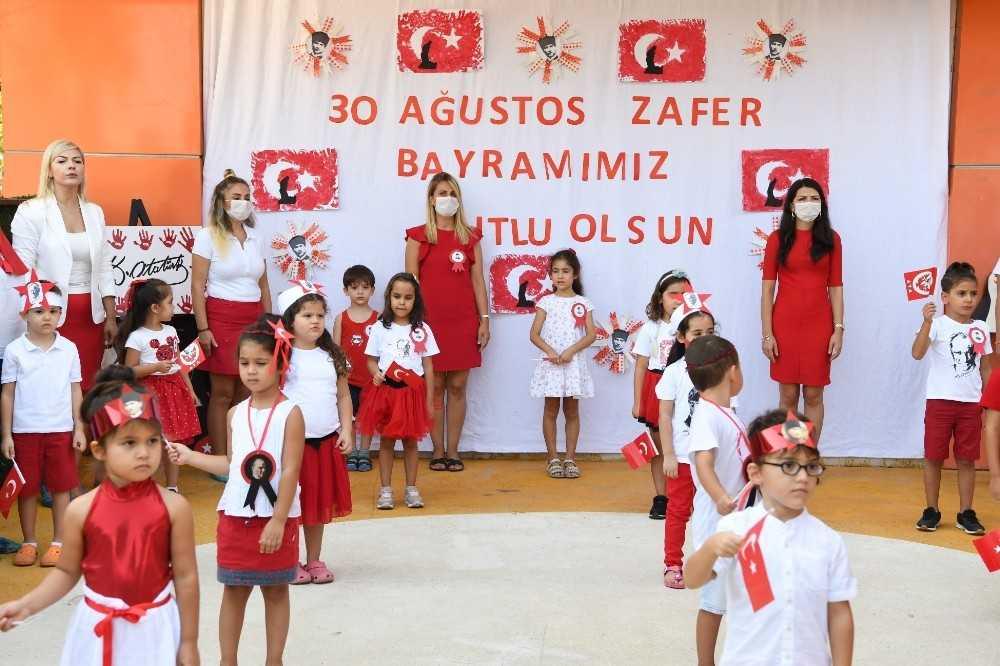 Konyaaltı Belediyesi Kreşi'nde 'Zafer Bayramı' coşkusu